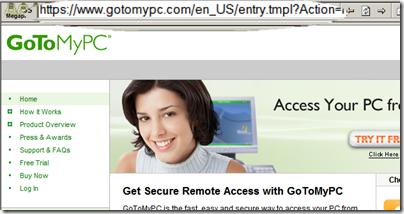 Figure 4: gotomypc.com