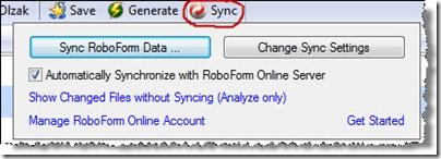 Figure 10: Online Sync